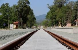 Samsun-Sivas demiryolu hattının yüzde 80'i tamam!