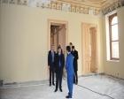 Vasip Şahin Yıldız Sarayı restorasyonunu gezdi!