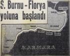 1957 yılında Sarayburnu-Florya sahil yolu çalışmalarına başlanmış!