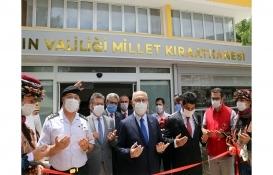 Aydın Millet Kıraathanesi açıldı!