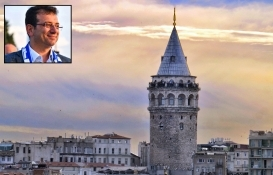 Ekrem İmamoğlu: 160 yıldır İBB'ye ait Galata Kulesi'nin alınma çabasına kızgınım!