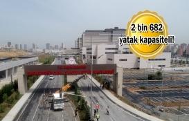 Başakşehir Çam ve Sakura Şehir Hastanesi yarın tam kapasite açılıyor!