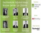 Büyüyen Şehirler için Çözümler etkinliği 15 Nisan'da!