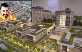 Başakşehir Şehir Hastanesi'nin inşaatında iş kazası: 1 işçi öldü!