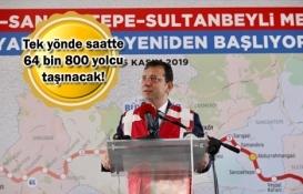 Çekmeköy-Sancaktepe-Sultanbeyli Metrosu'nda çalışmalar başladı!