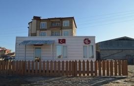 Konya Ilgın Belediyesi'nden evsiz ve kimsesizler için prefabrik konut!