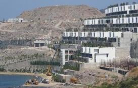 The Bo Viera projesinin imara aykırı yapıları yıkılıyor!