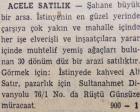 1950 yılında İstinye'de 30 dönüm arsa acele satılacakmış!