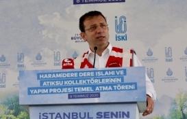 Ekrem İmamoğlu'ndan Kanal İstanbul tepkisi!