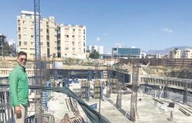 İzzet Yıldızhan'ın Kıbrıs'taki otelinin temeli bitti!