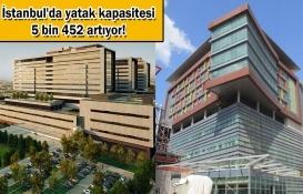 İkitelli ve Göztepe Şehir Hastaneleri Mayıs'ta açılacak!