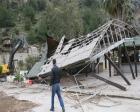 Muğla Kızkumu Plajı'ndaki kaçak tesis yıkıldı!