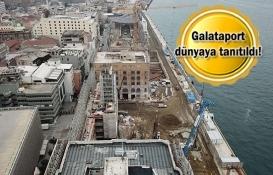 Galataport Mart 2020'de tamamlanacak!
