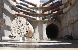 En uzun demir yolu tünelinin inşaatı tam gaz!