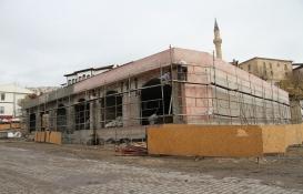 Beypazarı Belediyesi yeni iş yerlerinin inşaatı tam gaz!