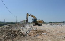 Osmangazi'deki kaçak binalar yıkılıyor!