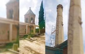 Afrin'de hasar gören camiler restore edilecek!