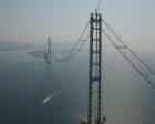 İzmit Körfez Köprüsü ışıklandırıldı!