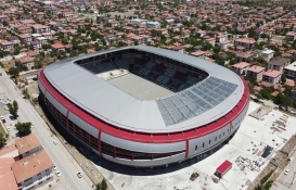 Erzincan Stadı açılış için gün sayıyor!