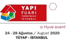 43. Yapı Fuarı-Turkeybuild 24 Ağustos'ta kapılarını açıyor!