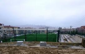 İzmit Yeşilova'ya spor tesisi inşa ediliyor!