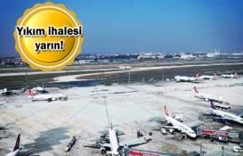 Atatürk Havalimanı'nda Millet Bahçesi için ilk adım yarın atılıyor!