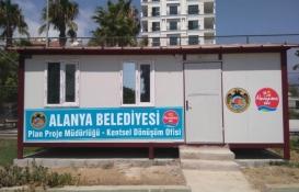 Alanya'da kentsel dönüşüm ofisi kuruldu!