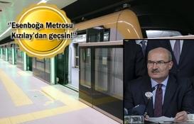 Esenboğa Havaalanı Metrosu için yeni hat önerisi!