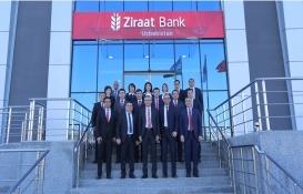 Ziraat Bankası Özbekistan Semerkant'ta şube açtı!