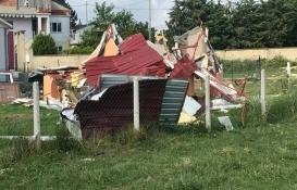 Silivri'deki kaçak yapılar yıkıldı!