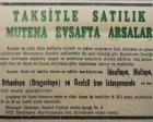 1954 yılında Marmara'nın Anadolu sahilinde 36 ay taksitle satılık arsalar!