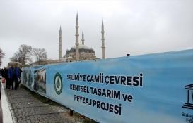 Selimiye Camii Çevre Projesi'ne onay!