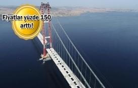 Arsa ve arazi fiyatlarına 1915 Çanakkale Köprüsü dopingi!