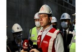 Ekrem İmamoğlu'ndan yeni havalimanı metrosu yanıtı: Doğru yapılanı alkışlarız!