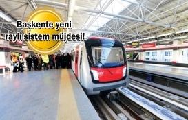 Ankara Yıldırım Beyazıt Üniversitesi-Çubuk Raylı sistem hattı için düğmeye basıldı!