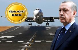 Cumhurbaşkanı perşembe günü 3. havalimanına inecek!