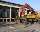 Kocaeli Seka'daki eski trafo binası yıkılıyor!