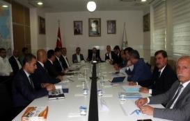 Bitlis'te 2018 yatırımları konuşuldu!