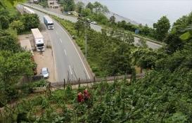 Artvin Kemalpaşa'da tünel üzerindeki arsada tarım yapılıyor!
