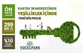 Kartal Yücel Park'ta 16 bin 170 TL peşinatla!