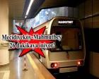 Kabataş-Mahmutbey metrosunda son