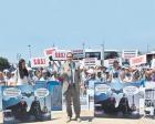 İzmir'de tramvay ve altgeçit inşaatı protesto edildi!
