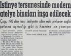 1964 yılında İstinye Tersanesi'nde modern atelye binaları inşa edilecekmiş!