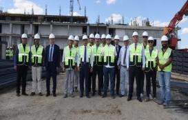 Tekirdağ Büyükşehir Belediyesi'nin yeni binası tamamlanıyor!
