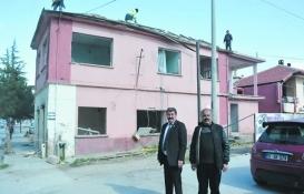 Afyonkarahisar'da istimlak edilen bina yıkıldı!
