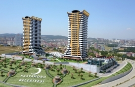 Kastamonu İkiz Kuleler Sitesi 9.4 milyon TL'ye icradan satışta!