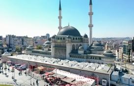 Taksim Cami inşaatında sona gelindi!