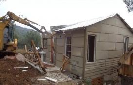 Osmangazi'de tarım alanındaki kaçak yapılar yıkıldı!