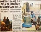 1975 yılında Bostancı'da tapulu arsalar üzerindeki gecekondular yıkılmış!