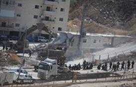 İsrail Doğu Kudüs'teki evleri yıkıyor!